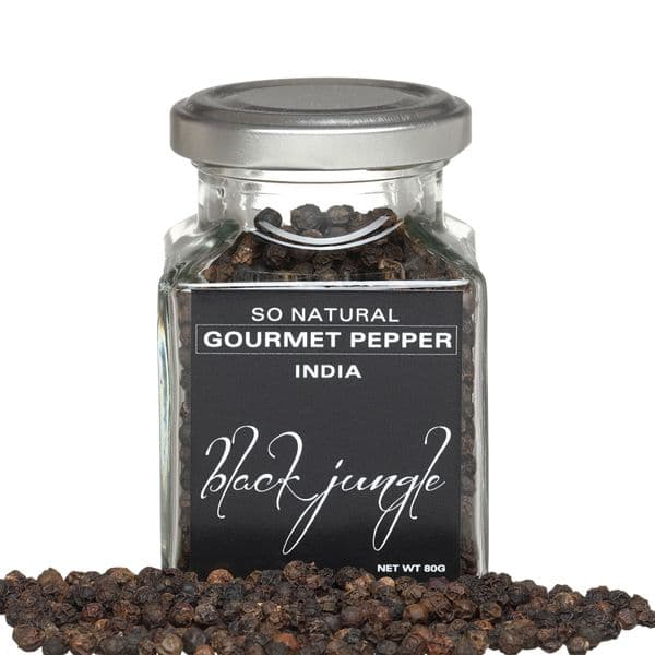 Indian Black Jungle Pepper | GourmetSalts.co.uk